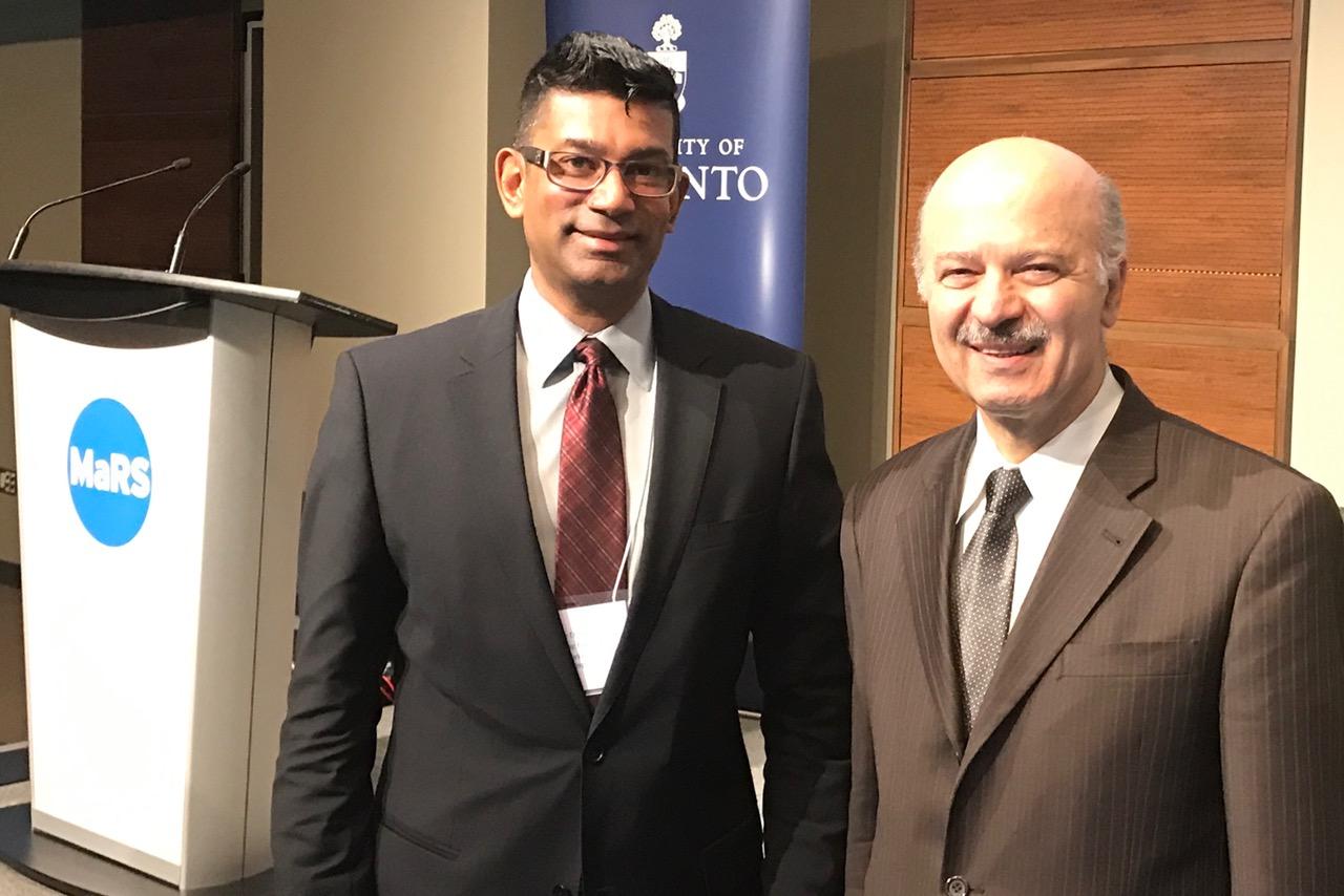 2017-04-13 U of T Sustainability Summit with Reza, Mars